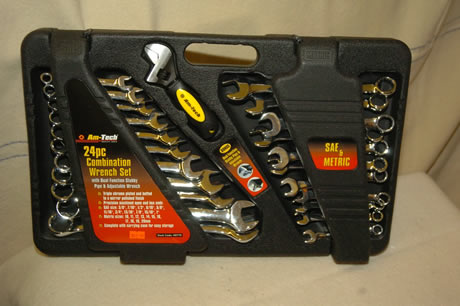 24pc Combination Wrench Set